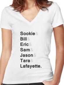 Sookie&co ( v.2 ) Women's Fitted V-Neck T-Shirt