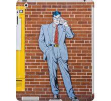 Superman (Clark Kent) in Metropolis, Illinois iPad Case/Skin