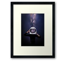 the astronaut Framed Print