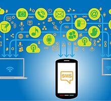 Concept of a quick SMS API  by eliana11