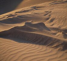 landscapes #219, rippled shadows by stickelsimages