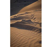 rippled shadows Photographic Print
