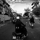 Cambodia Noir - Ride Away by Tyson Battersby