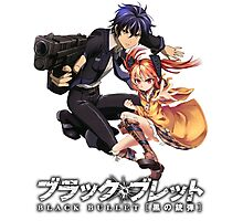 black bullet rentoro and enju Photographic Print