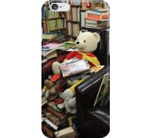 A Very Bookish Teddy iPhone Case/Skin