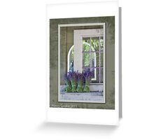 Lavender Bouquets Greeting Card
