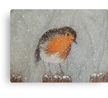 I Love Snow Canvas Print