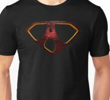 "The Letter A in the Style of ""Man of Steel"" Unisex T-Shirt"