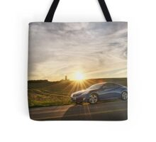 Genesis Coupe at Sunset Tote Bag