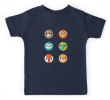 Smiley Faces - Set 2 Kids Tee