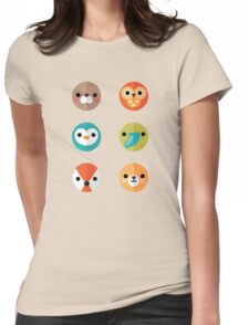 Smiley Faces - Set 2 Womens Fitted T-Shirt