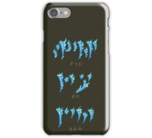 FUS RO DAH! iPhone Case/Skin