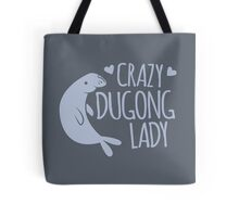 Crazy Dugong Lady Tote Bag