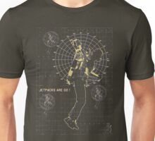 JETPACKS ARE GO TECH Unisex T-Shirt
