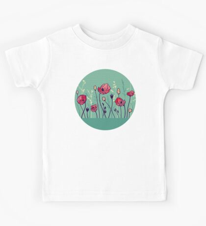 Summer Field Kids Tee