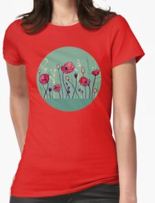 Summer Field Womens Fitted T-Shirt