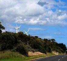 Wind farm by su2anne