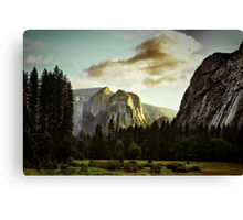 View from the Valley Floor Canvas Print