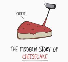 The Modern Story of Cheesecake Kids Tee