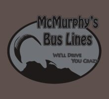 McMurphy's Bus Lines Kids Clothes