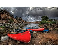 Rainbows, Canoes and Unicorns Photographic Print