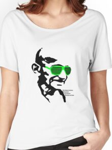 ISSA 2011 Gandhi Shades (White) Women's Relaxed Fit T-Shirt