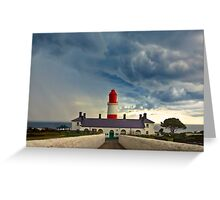 Storm Over Souter Greeting Card
