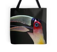 Red Breasted Toucan Portrait at Iguassu, Brazil Tote Bag