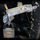 Lock with no Door.. by Tanya Rossi