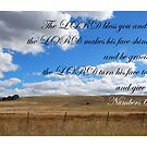 The LORD bless you and keep you by Catherine Davis
