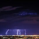 Salt Lake City - Lightning by Ryan Houston