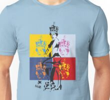 Hot Queen stencil in Camden Town Unisex T-Shirt