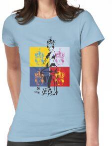 Hot Queen stencil in Camden Town Womens Fitted T-Shirt