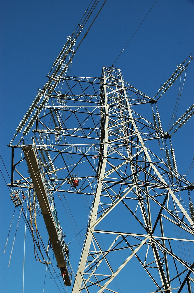 """""""Tension Tower and Platform c/w Hydraulic Pump"""" by Jimmy Deas"""