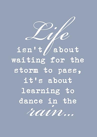 Dancing in the Rain by Jo Holden
