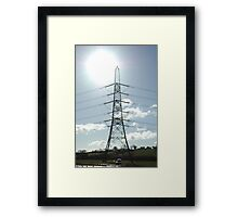 """""""Sunburst"""" Framed Print"""