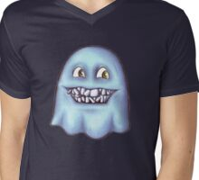 Ghost with the crooked teeth Mens V-Neck T-Shirt