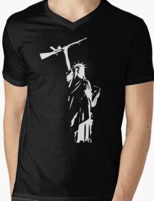 Liberty or Death ? Mens V-Neck T-Shirt