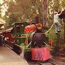 Dreamworld steam train by Michael Matthews
