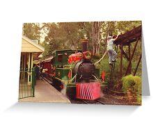 Dreamworld steam train Greeting Card