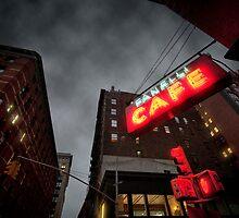 Café in New York by Laurent Hunziker