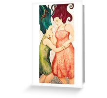 Under the Silent Sea Greeting Card