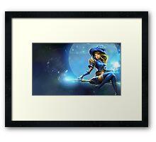 Sorceress Lux - League of Legends Framed Print