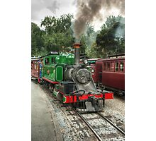 0472 Puffing Billy Photographic Print