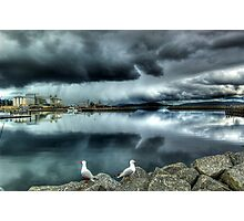 Storm Over Albany Photographic Print