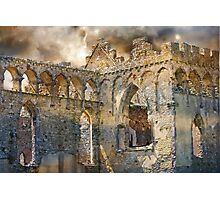 Ruins of an Ancient Life. Photographic Print