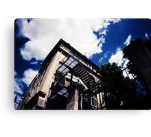 Paris street and sky Canvas Print