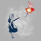Banksy in wonderland by Harantula