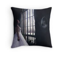 Timeless Places, Traced & Faceless... Throw Pillow