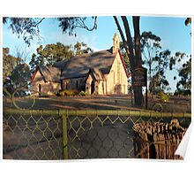 Anglican Church (1893), Bungonia, NSW Poster